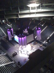 View from the Philips Arena Catwalk