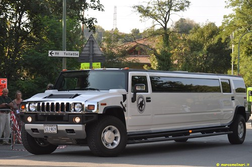 Hummer Limo @ Daboot J'up the Africa 2009