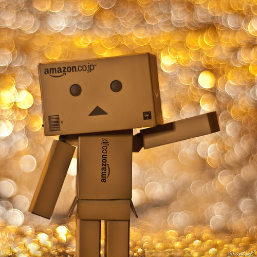 Danbo arrives...