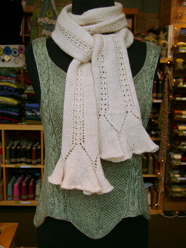 Virginia's Flutter Scarf