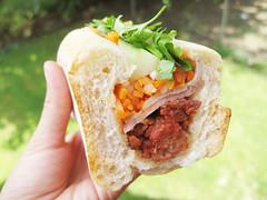 pork banh mi @ saigon vietnamese sandwich