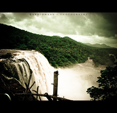 Athirapally Waterfalls | Kerala (abhiomkar) Tags: trip india kerala athirapally aluva