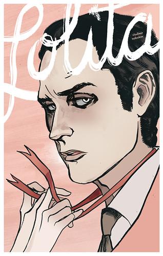 Lolita Book Cover.