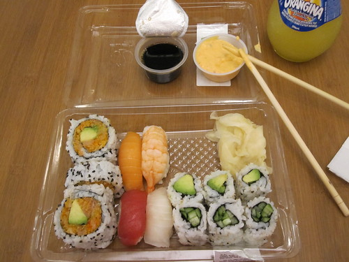 Sushi shop meal, Orangina - 417.10