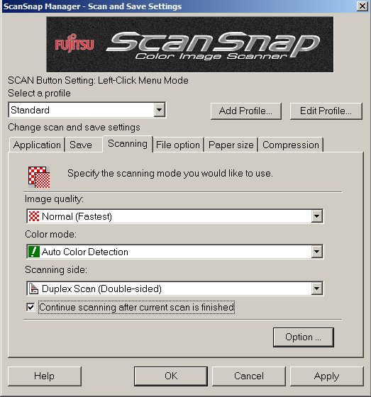 Scanning a group of documents that is bigger than the capacity of your ScanSnap ADF_10