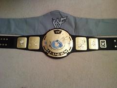 WWF Attitude era Heavyweight Title Belt