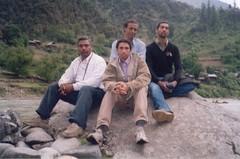 Keran, Neelum Valley AJK (c o n c o r d i a) Tags: cliff mountain snow river hill peak glacier concordia kashmir neelum keran