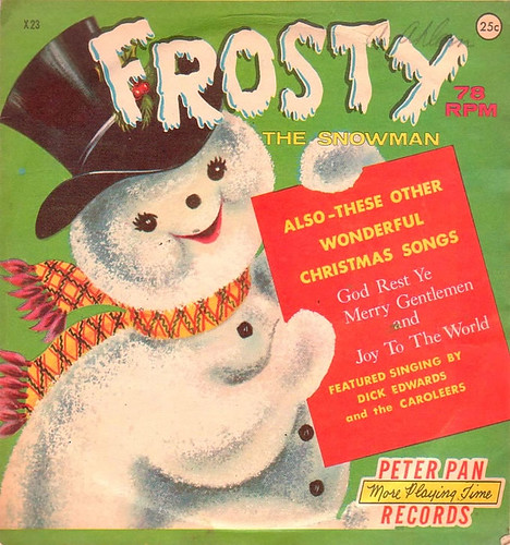 frosty-the-snowman-78-record by inmyjammiesintx