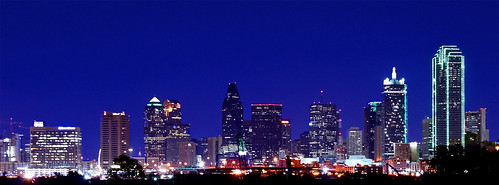 {The Dallas Skyline - flickr/Victor F}