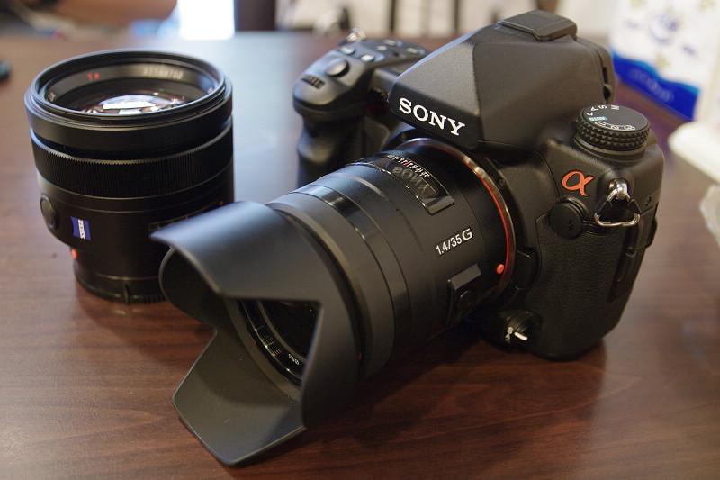 SONY α850