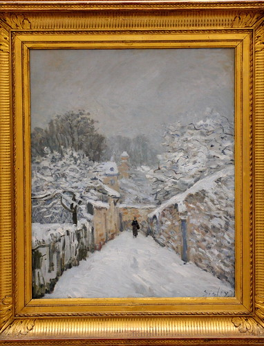 Alfred SISLEY, Snow at Louveciennes, 1878 by Ondra Havala