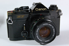 Canon EF on Display (01) (Hans Kerensky) Tags: slr 35mm canon japanese ef