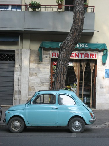 Car in Siena