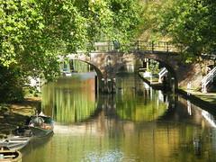 Autumn Oudegracht Utrecht (~Stichter~) Tags: bridge autumn holland netherlands canal utrecht herfst nederland brug gracht oudegracht