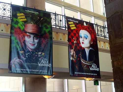 Alice in Wonderland promo posters