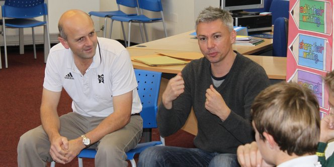 Jonathan Edwardes and Tim Hadaway