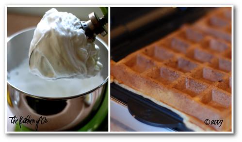 Waffle and Egg Whites