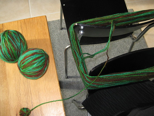 grüne wolle