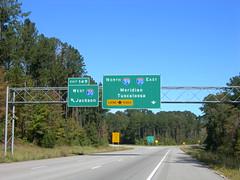 Interstate 20-59 Interchange (jimmywayne) Tags: mississippi jackson interstate meridian i20 i59 interstate20 interstate59