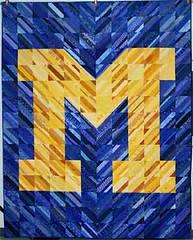 """M"" String quilt 2009"