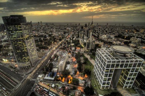 Tel Aviv from the 42nd Floor