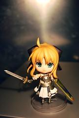Nendoroid Saber Lily (Yukihana~) Tags: toy saber gsc fatestaynight bfigure jfigure goodsmile goodsmilecompany nendoroid saberlily