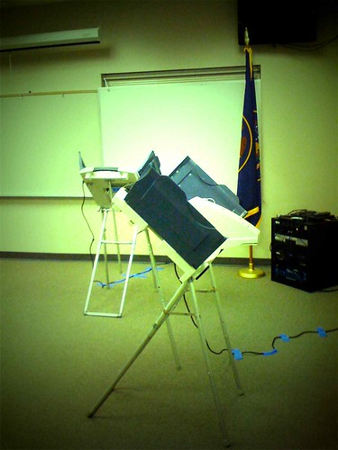 From flickr.com: Electronic Voting: is it really counting your vote? The way you intended it to? {MID-72123}