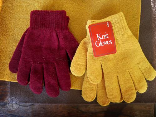 99 cent knit gloves