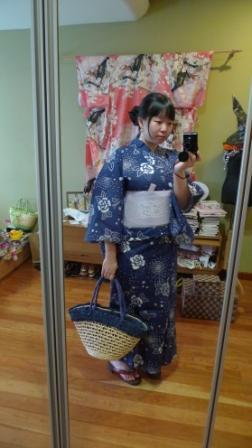 Rose Yukata Outfit