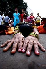 dondi (Samir D) Tags: street india festival canon eos streetphotography explore kolkata dondi westbengal sigma1020 40d streetsofkolkata canon40d chotpuja samird