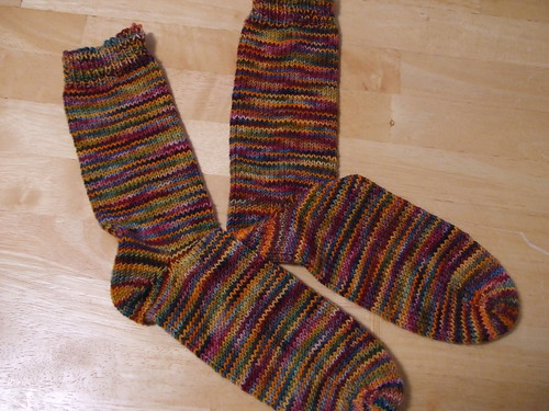 October Afternoon Socks