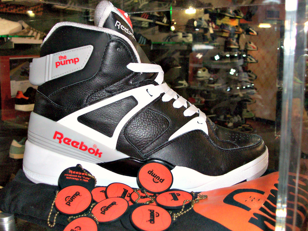 Reebok 20 collabs display (Firepower23) Tags  london basketball display  sneakers collection 47c861af2d49