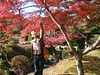 The mouri's private garden with japanese maple 031