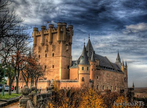 Travel Alczar of Segovia Spain Tourist Attractions