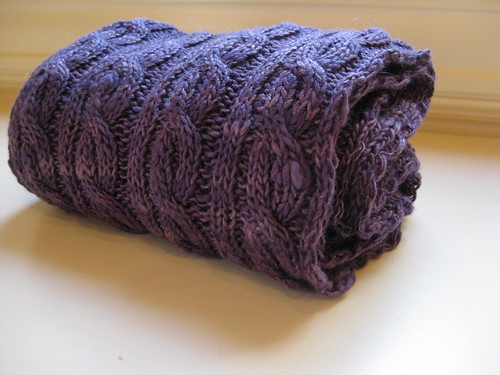 Palindrome scarf 2