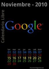 Noviembre 2010 Calendario libre