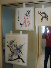 Mounted Paintings 1