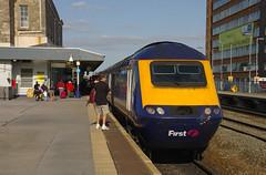 IMGP0396 (mattbuck4950) Tags: england unitedkingdom swindon trains railways 2009 trainspotting firstgreatwestern swi class43 intercity125 fgw 43168 greatwesternmainline swindonrailwaystation gwml britishrailclass43 southwalesmainline goldenvalleyline swml