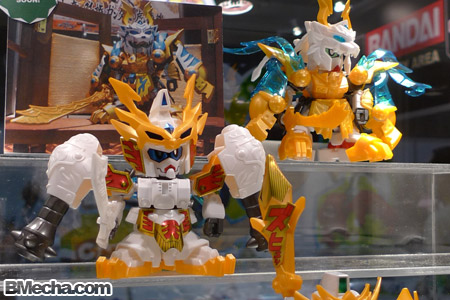AFA 2009 SD Gundam Sangokuden Sonken Gundam and Sonsaku Gundam