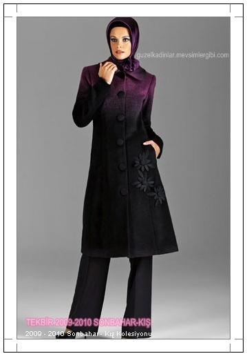 Tekbir Giyim 2009-2010 Sonbahar Kış Koleksiyonundan Tekbir Manto Pardesü ve Kaban Modelleri