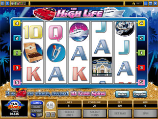 The High Life slot game online review