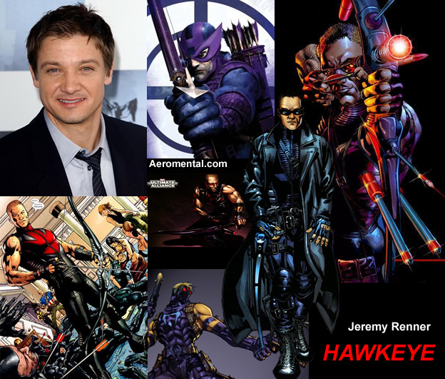 Jeremy Renner as Hawkeye Marvel