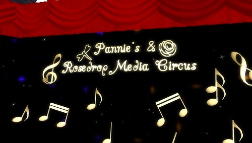 pannies & rosedrop media circus in second life