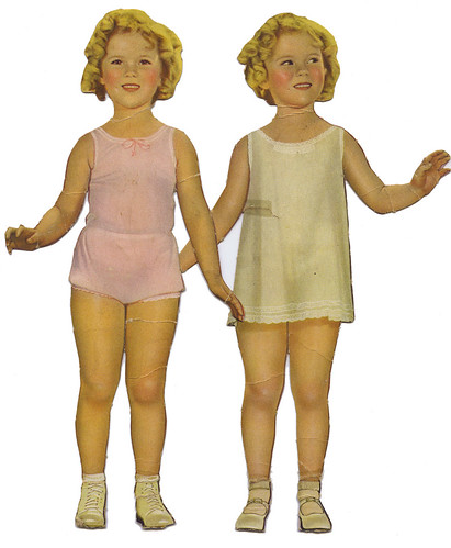 Shirley Temple paper dolls_1935_tatteredandlost