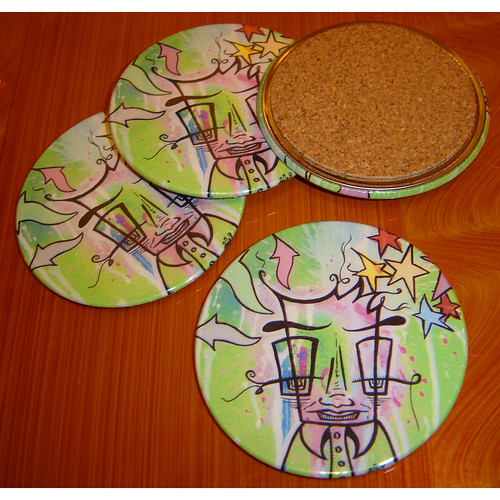 Coaster Set - Fuzzy Logic
