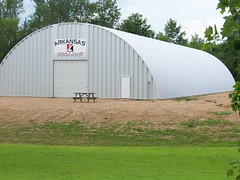 SteelMaster Metal Indoor Pole Vaulting Facility