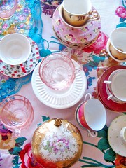 party styling (lulaland) Tags: china home colors tea decor tablesetting interiorstyling partystyling