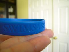 Swimsafe (sunrise.on.the.east.side) Tags: bracelet wristband swimsafe