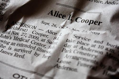 Alice Cooper is dead