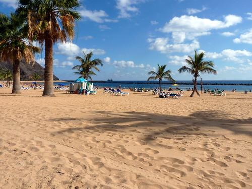 Tenerife - Las Teresitas Beach
